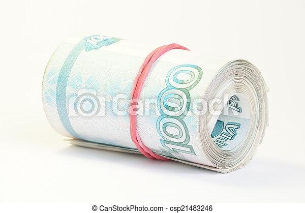 Russian money - csp21483246