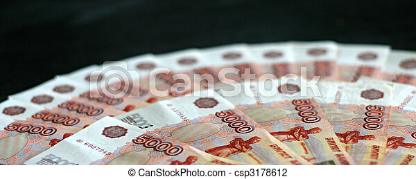 russian money - csp3178612