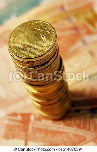 Russian money - csp14070391