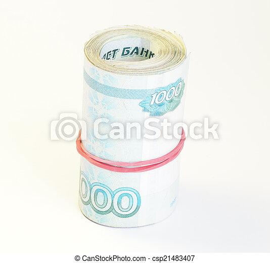 Russian money - csp21483407