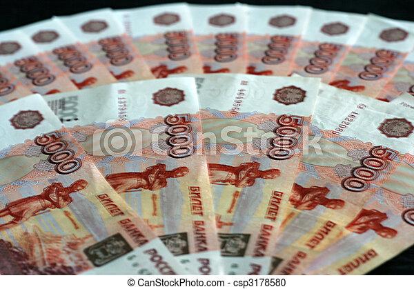 russian money - csp3178580