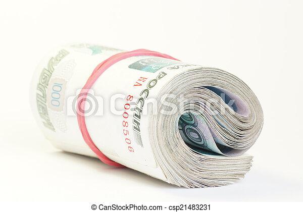 Russian money - csp21483231