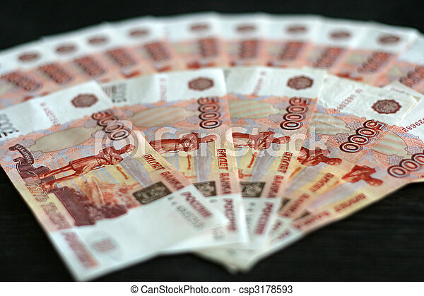 russian money - csp3178593