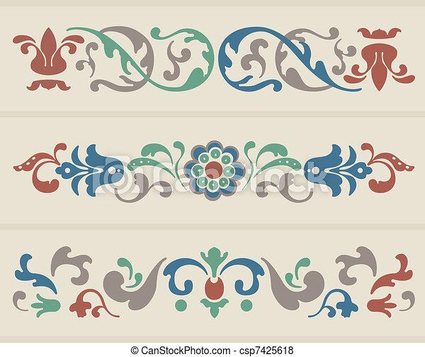 Russian Ornament - csp7425618