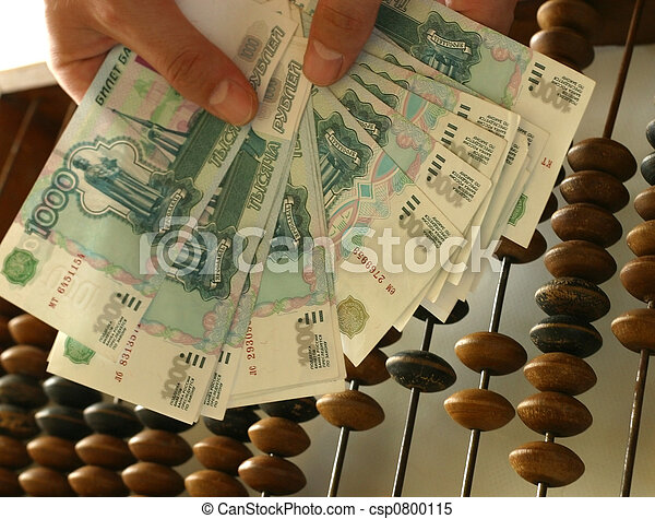Russian roubles - csp0800115
