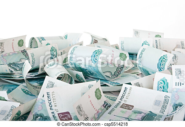 Russian Ruble. - csp5514218