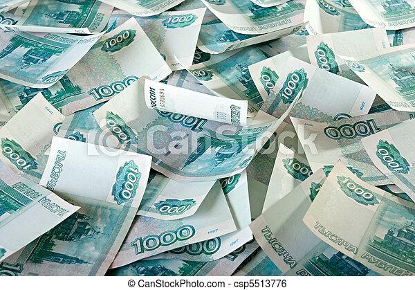 Russian Ruble. - csp5513776