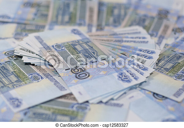 Russian Ruble - csp12583327