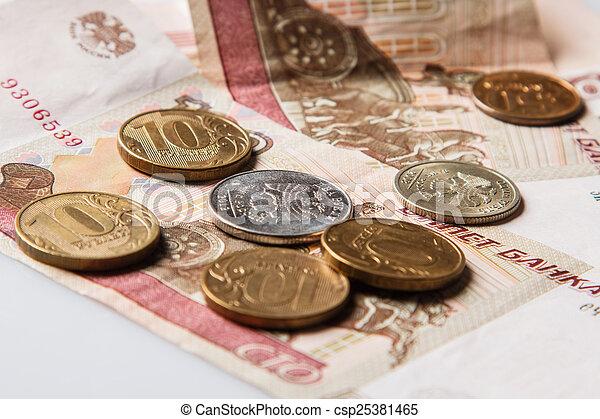 Russian rubles - csp25381465
