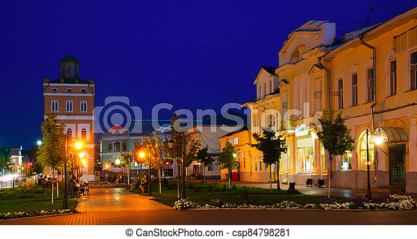 russian small town murom - csp84798281