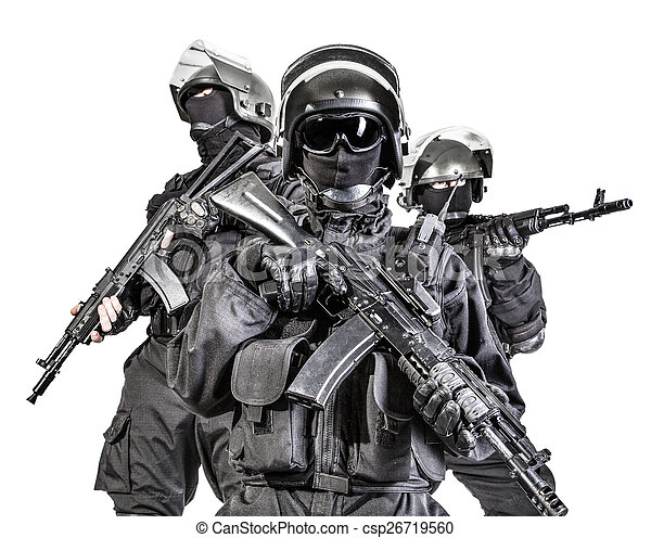 Russian special forces  - csp26719560