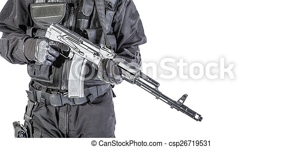 Russian special forces - csp26719531
