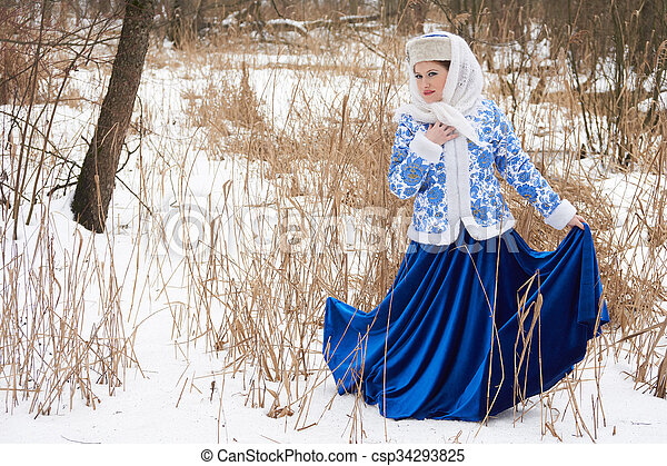 Traditional Russian Woman Search