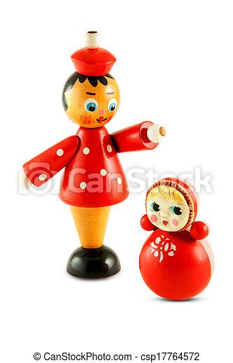Russische Spielzeuge