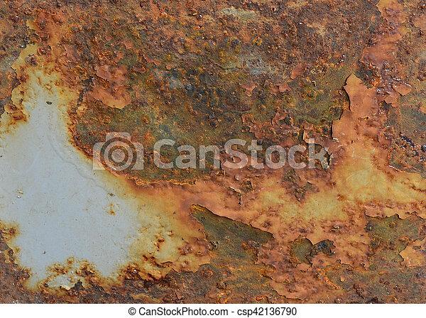 Rust Steel Sheet - csp42136790