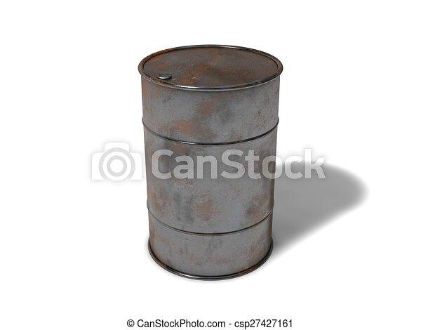 rusted barrel - csp27427161