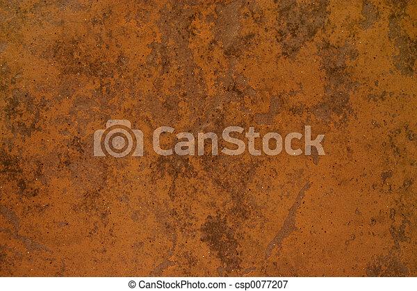 Rusted material - csp0077207