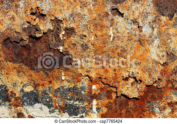 rusted metal texture rusty and discolored grungy old metal