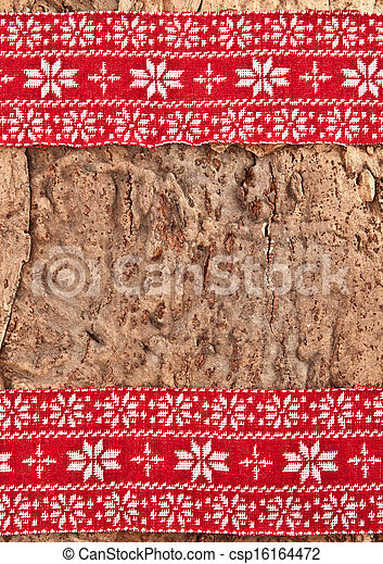 Rustic Background For Christmas