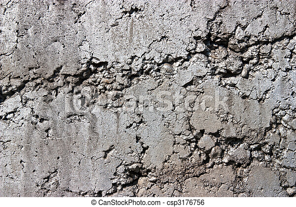 Rustic Concrete Wall Simple And Rough Texture Of A