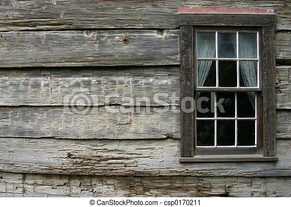 Rustisches Fenster 2 - csp0170211