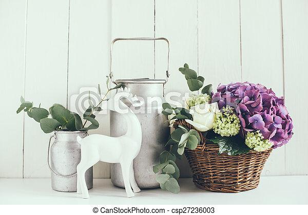 rustic home decor - csp27236003