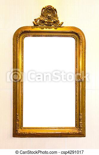 Rustic mirror - csp4291017