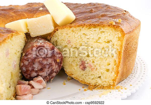 rustic pie- tortano-casatiello - csp9592922