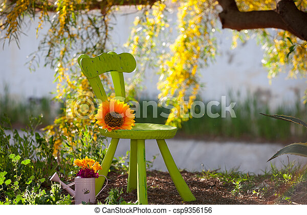 rustic scene showing the beauty of nature - csp9356156