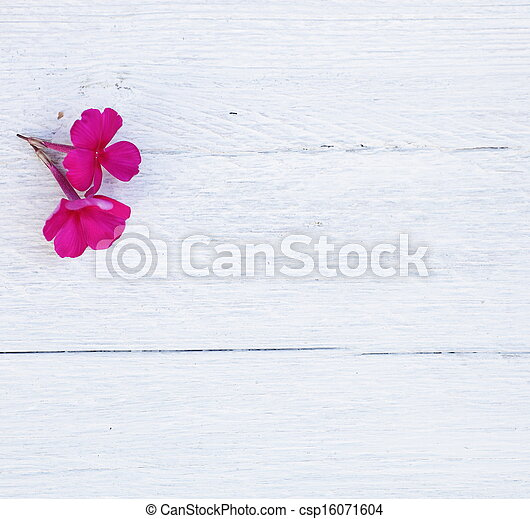 Rustic white wood background - csp16071604