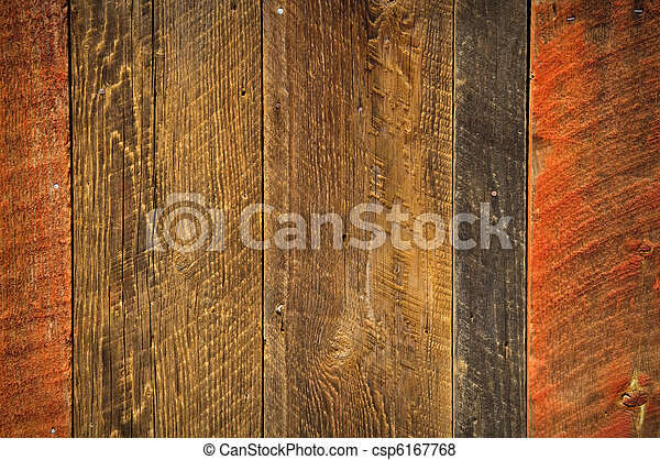 Rustic Wood Background Red And Black
