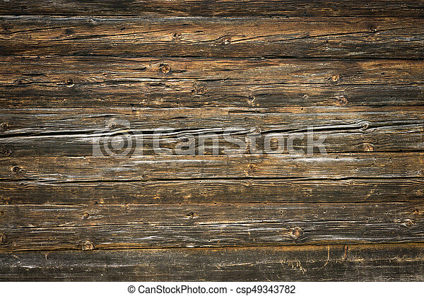Rustic Wood Planks Background With Nice Vignetting Rustic Wood