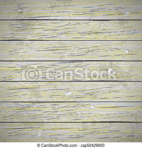 Rustic Wood Planks Vintage Background Vector Illustration