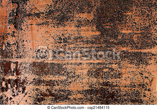 rusty abstract background - csp21484115