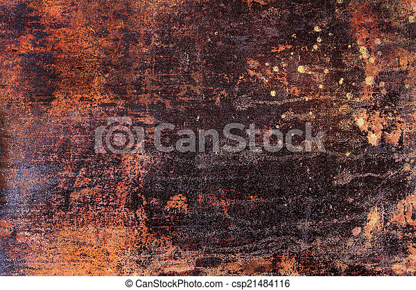 rusty abstract background - csp21484116