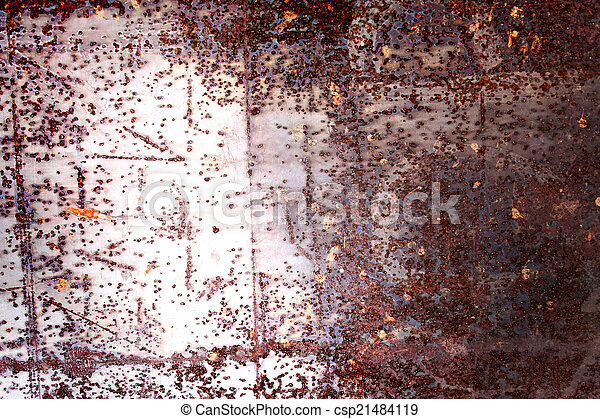 rusty abstract background - csp21484119