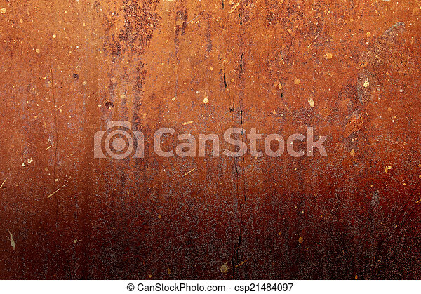 rusty abstract background - csp21484097