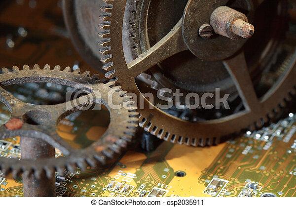 Rusty Gears - csp2035911
