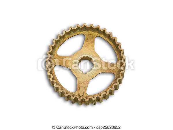 rusty gears - csp25828652
