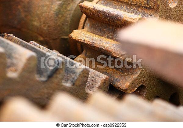Rusty gears - csp0922353