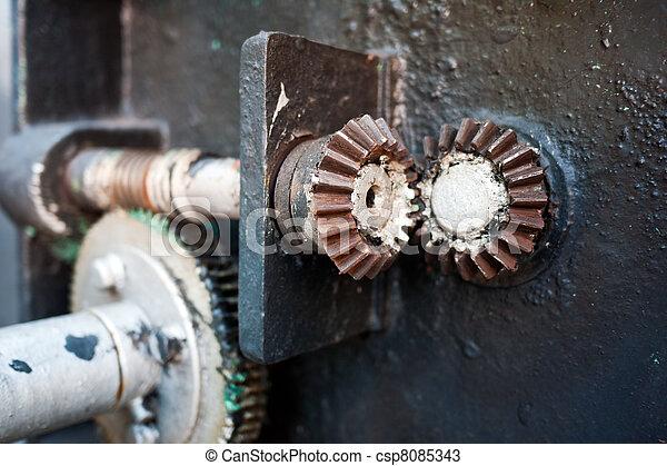 Rusty gears - csp8085343