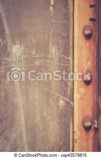 rusty metal texture background - csp43579815