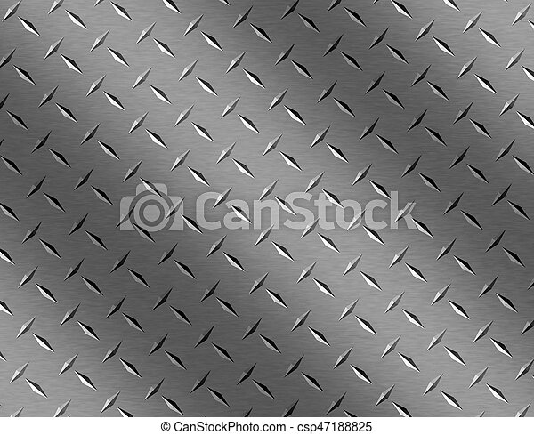 rusty rivets plate metal background - csp47188825