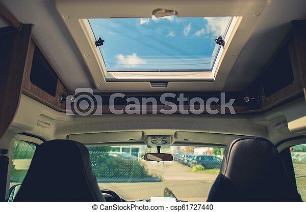 RV Camper Van Road Trip - csp61727440