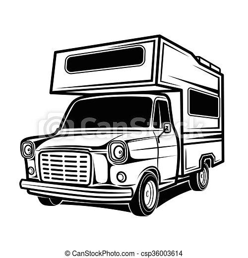 Rv cars Recreational Vehicles Camper Vans Caravans - csp36003614