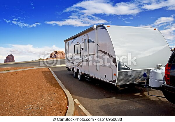 rv, recreational jármű - csp16950638