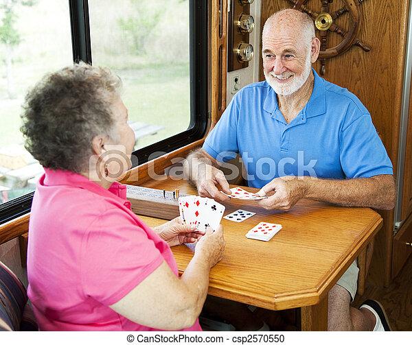 RV Seniors - Card Game - csp2570550