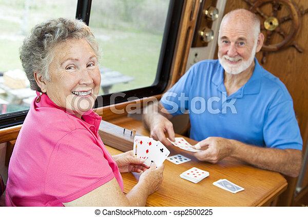 RV Seniors - Playing Cards - csp2500225