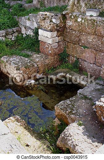 rybník, starobylý - csp0043915
