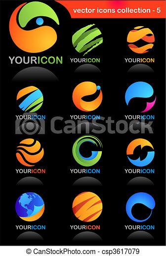 ryczałt handlowy, ikony - csp3617079